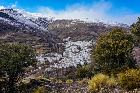 trevelez village sierra nevada spain independent hiking holiday